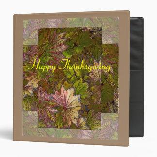 Autumn Leaves: Thanksgiving - Binder