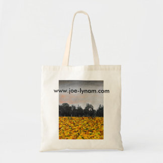 Autumn leaves tote budget tote bag