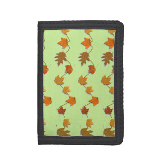 Autumn Leaves Trifold Wallet