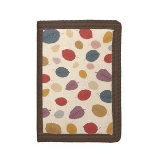 Autumn Leaves Trifold Wallets