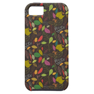 Autumn leaves tropical night iPhone 5 cover