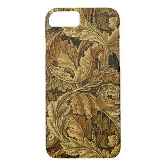 Autumn leaves William Morris pattern iPhone 7 Case