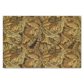 Autumn leaves William Morris vintage pattern Tissue Paper