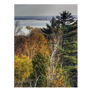 Autumn Lookout Postcard