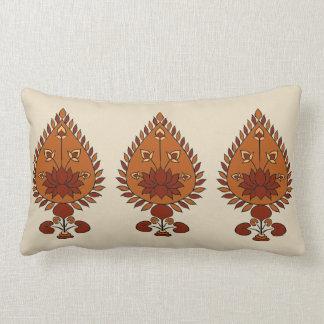 Autumn Lotus Lumbar Pillow