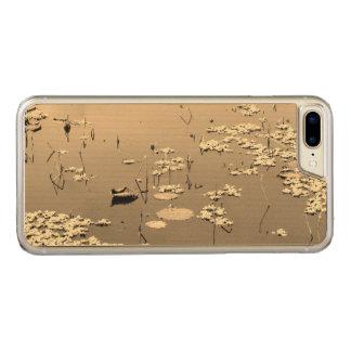 Autumn Lotus Zen Water Garden Serenity Carved iPhone 8 Plus/7 Plus Case