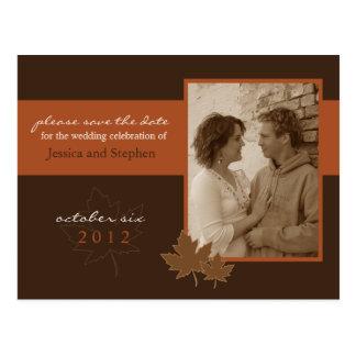 Autumn Love 01 Postcard