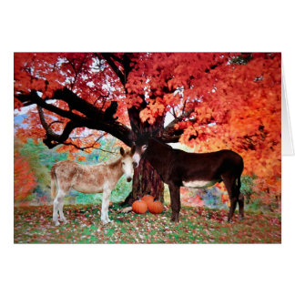 """Autumn Love"" Greeting Card"