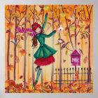 Autumn Love Letter Girl - Poster