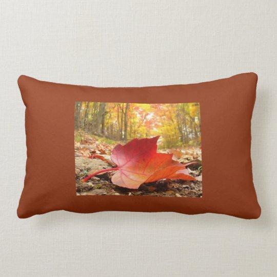 Autumn love lumbar pillow