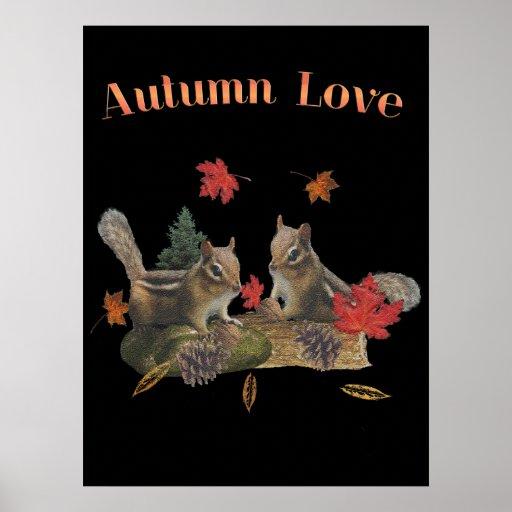 autumn love print