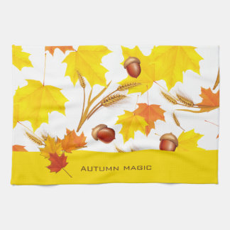 Autumn Magic Kitchen Towel