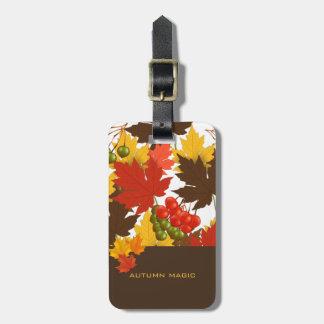 Autumn Magic Luggage Tag