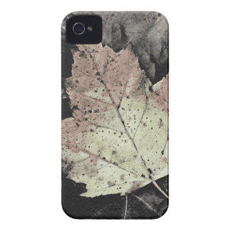 Autumn Maple Leaf Art iPhone 4 Case-Mate Cases
