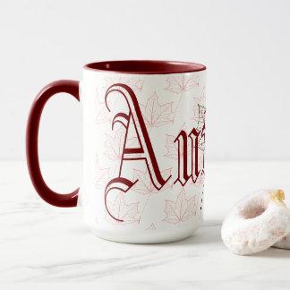 Autumn Maple Leaf Mug