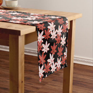 Autumn Maple Leaf Short Table Runner