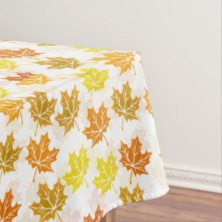 Autumn Maple Leaves Fall Foliage Leaf Thanksgiving Tablecloth