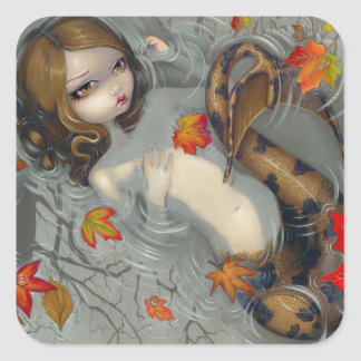 """Autumn Mermaid"" Sticker"