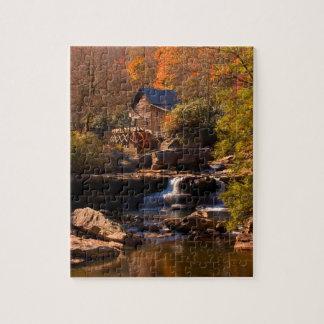 Autumn Mill 8x10 Jigsaw Puzzle