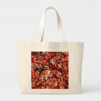 AUTUMN MIX (an abstract art design) ~ Jumbo Tote Bag