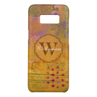 Autumn Monogram Samsung Case