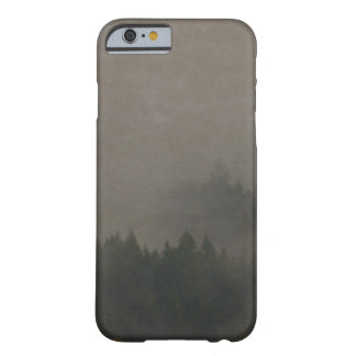 Autumn Moods Misty Forest Photo Art Nature Scene Barely There iPhone 6 Case