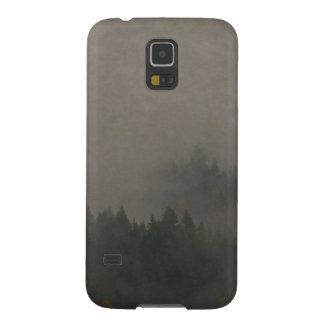 Autumn Moods Misty Forest Photo Art Nature Scene Galaxy S5 Case