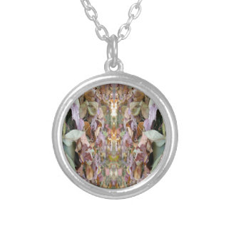 Autumn Morning 4 Silver Plated Necklace