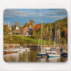 Autumn Morning In The Camden Harbour, Camden Mouse Pad