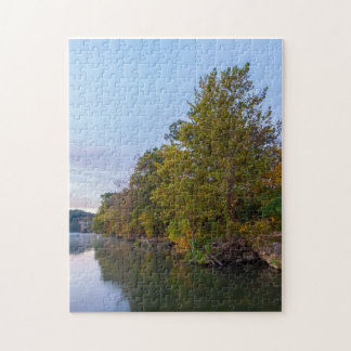 Autumn Morning Lake Springfield Jigsaw Puzzle