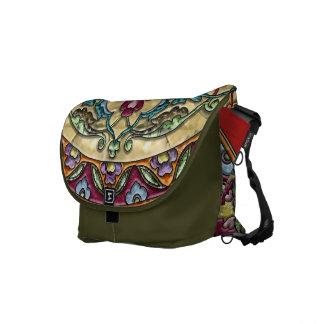 Autumn Morning Medallion Messenger Bag