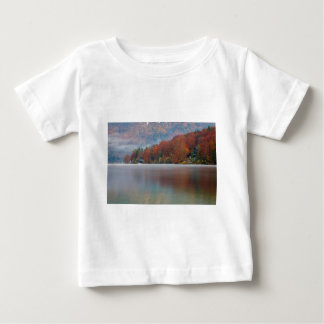 Autumn morning over Lake Bohinj Baby T-Shirt