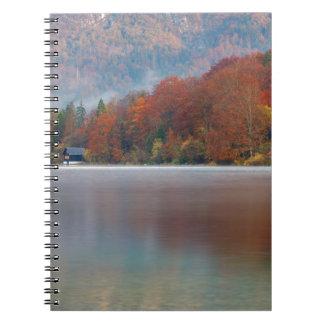 Autumn morning over Lake Bohinj Notebooks