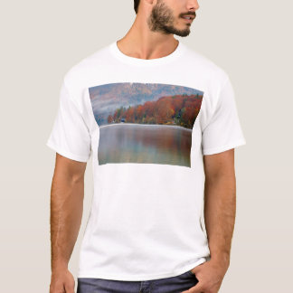 Autumn morning over Lake Bohinj T-Shirt