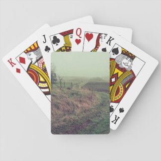 Autumn Morning Playing Cards