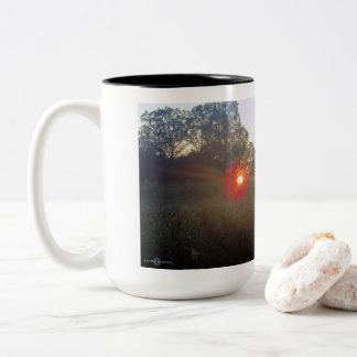 Autumn Morning Two-Tone Coffee Mug