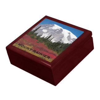 Autumn Mount Rainier Photo Gift Boxes