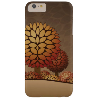 Autumn Night Landscape. Abstract Barely There iPhone 6 Plus Case