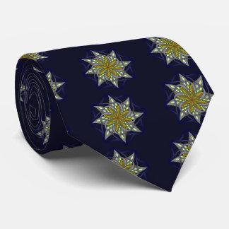 Autumn night tie