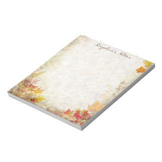 Autumn Notepad