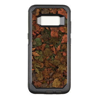 Autumn Oak Leaves Camouflage Greens & Golds Rust OtterBox Commuter Samsung Galaxy S8 Case