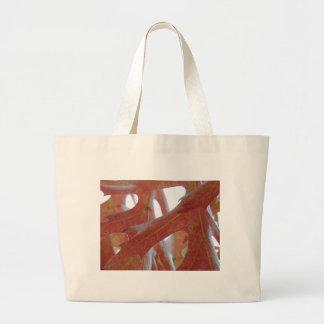 Autumn Oak Leaves Large Tote Bag
