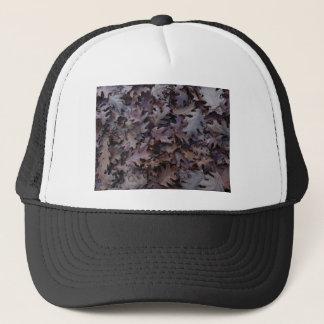 Autumn Oak Leaves Trucker Hat