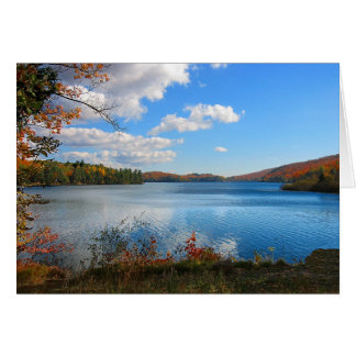 Autumn on Meech Lake Card