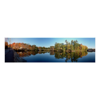 Autumn on the Kennebec Poster