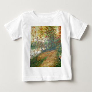 Autumn on the river baby T-Shirt