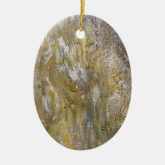Autumn Ceramic Oval Ornament