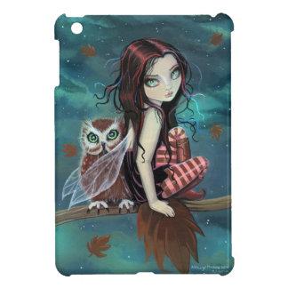 Autumn Owl and Fairy iPad Mini Case