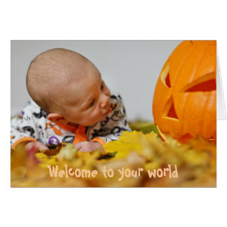 Autumn Pagan New Baby Card