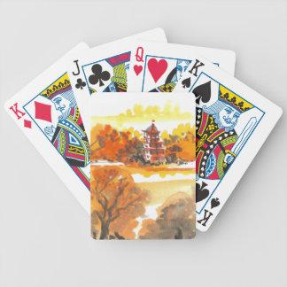 Autumn Pagoda Cards